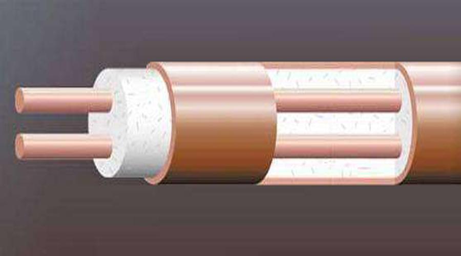 阻燃电缆模拟图